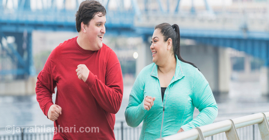 ورزش و لاغری